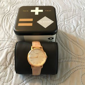 Fossil Jacqueline watch NWT